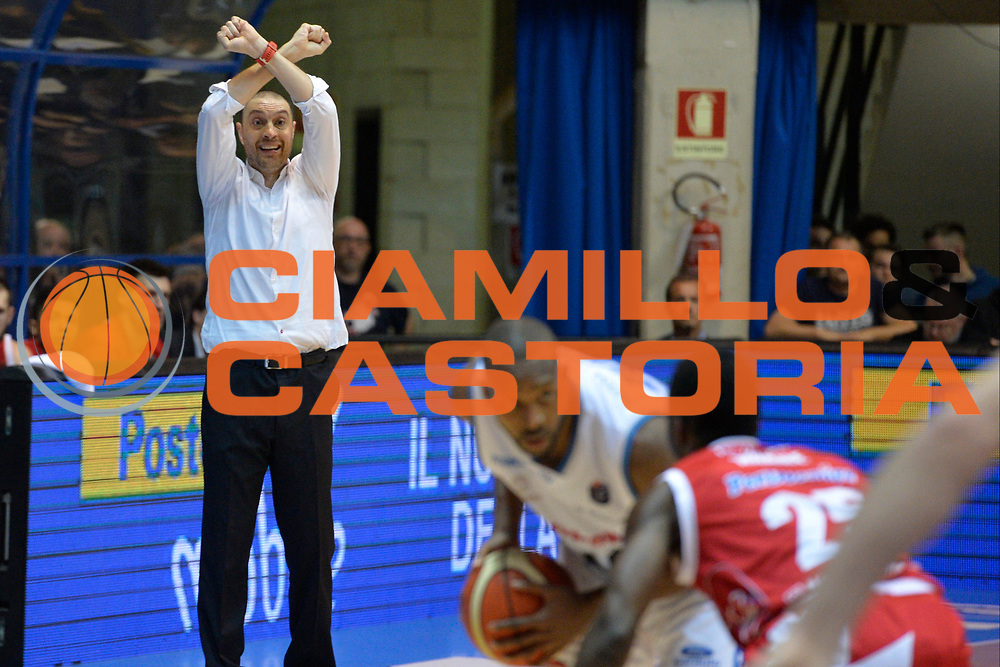 Vincenzo Esposito<br /> Red October Cantu' vs The Flexx Pistoia<br /> Lega A  2016/2017<br /> Desio 15/04/2017<br /> Foto Ciamillo-Castoria<br /> Provvisorio