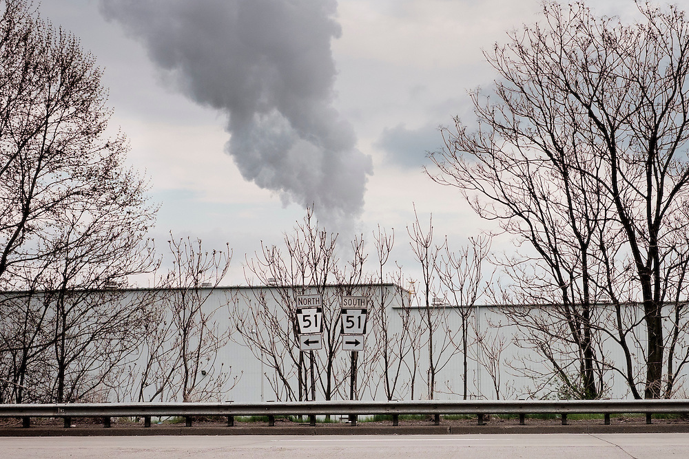 United States Gypsum, a manufacturer of construction wallboard and building materials for the construction industries now occupies a part of the former location of the Jones and Laughlin Steel Company along the Ohio River in Aliquippa, PA.