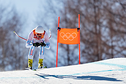 13.02.2018, Jeongseon Alpine Centre, Pyeongchang, KOR, PyeongChang 2018, Ski Alpin, Herren, Kombination, im Bild Bryce Bennett (USA) // Bryce Bennett of the USA during the Mens Ski Men's Alpine Combined of the Pyeongchang 2018 Winter Olympic Games at the Jeongseon Alpine Centre in Pyeongchang, South Korea on 2018/02/13. EXPA Pictures © 2018, PhotoCredit: EXPA/ Johann Groder