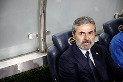 August 3, 2017 - ISTANBUL - Fenerbahce head coach Aykut Kocaman during the UEFA Europa League third qualifying round second match between Fenerbahce and Sturm Graz at Fenerbahce's Ulker Stadium in Istanbul on August 3, 2017. (Credit Image: © Can Erok/Depo Photos via ZUMA Wire)