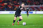 Cauley Woodrow of Barnsley (9) in action during the EFL Sky Bet League 1 match between Doncaster Rovers and Barnsley at the Keepmoat Stadium, Doncaster, England on 15 March 2019.