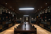 NEW YORK, NY - March 7, 2017: Library located on the third floor at The Eugene at 435 W 31st Street in Manhattan. CREDIT: Emon Hassan for The New York Times