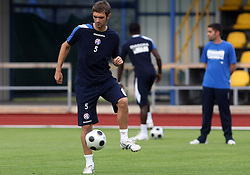 Mirko Hrgovic at Practice od Dinamo Zagreb day before 1st match of 2nd Qualifying Round of UEFA Champions league between NK Domzale vs HNK Dinamo Zagreb, on July 29, 2008, in Domzale, Slovenia. (Photo by Vid Ponikvar / Sportal Images)