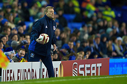 LIVERPOOL, ENGLAND - Thursday, December 17, 2009: Everton's manager David Moyes during the UEFA Europa League Group I match at against FC BATE Borisov Goodison Park. (Pic by David Rawcliffe/Propaganda)