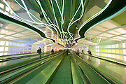 Chicago O'Hare airport in Illinois