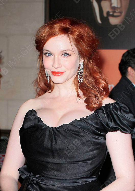 12.FEBRUARY.2012. LONDON<br /> <br /> CHRISTINA HENDRICKS ATTENDS THE ORANGE BRITISH ACADEMY FILM AWARDS AFTER PARTY AT THE GROSVENOR HOUSE HOTEL IN LONDON<br /> <br /> BYLINE: EDBIMAGEARCHIVE.COM<br /> <br /> *THIS IMAGE IS STRICTLY FOR UK NEWSPAPERS AND MAGAZINES ONLY*<br /> *FOR WORLD WIDE SALES AND WEB USE PLEASE CONTACT EDBIMAGEARCHIVE - 0208 954 5968*