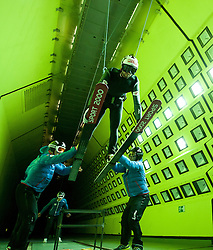 19.10.2013, Klima Wind Kanal, Wien, AUT, OESV, Nordische Kombination Skisprungtraining im Wind Kanal, im Bild Mario Stecher // during the Skijump training in the Climatic Wind Tunnel, Austria 20131019. EXPA Pictures © 2013, PhotoCredit: EXPA/ Sascha Trimmel