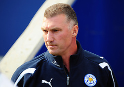 Leicester City Manger Nigel Pearson - Photo mandatory by-line: Joe Meredith/JMP  - Tel: Mobile:07966 386802 06/10/2012 - Leicester City v Bristol City - SPORT - FOOTBALL - Championship -  Leicester  - King Power Stadium