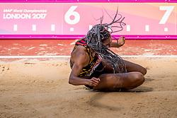 06-08-2017 IAAF World Championships Athletics day 3, London<br /> Nafissatou Thiam BEL