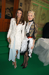 Left to right, MARINA HANBURY and DAPHNE GUINNESS at the NSPCC's Dream Auction held at The Royal Albert Hall, London on 9th May 2006.<br /><br />NON EXCLUSIVE - WORLD RIGHTS