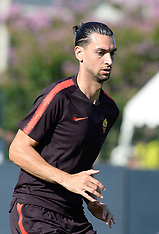 AS Roma Training - 19 July 2018