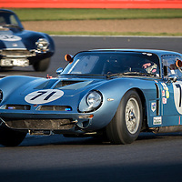 #71, Bizzarrini 5300 GT (1965), WILLS Wills (NZL), International Trophy For Classic GT Cars (Pre '66), Silverstone Classic 2016, Silverstone Circuit, England. U.K.