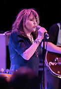 Exene Cervenka of X performs at The Roxy theater on Friday, December 4, 2015, in Hollywood, California. (Photo: Charlie Steffens/Gnarlyfotos)