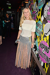 ALANNAH WESTON at Hoping's Greatest Hits - the 10th Anniversary of The Hoping Foundation's charity benefit held at Ronnie Scott's, 47 Frith Street, Soho, London on 16th June 2016.