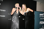 Sharon Stone AND MIRA SORVINO, Amfar's Inaugural Cinema Against Aids. Spazio Etoile. Rome. 26 October 2007. SUPPLIED FOR ONE-TIME USE ONLY> DO NOT ARCHIVE. © Copyright Photograph by Dafydd Jones . 248 Clapham Rd. London SW9 0PZ. 0208 820 0771.  www.dafjones.com