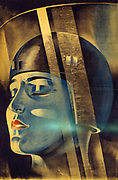 Poster for the Fritz Lang silent film 'Metropolis'