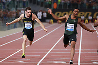 Filippo Tortu ITA 100mt. men  <br /> Roma 31-05-2018 Stadio Olimpico<br /> IAAF Diamond League Golden Gala <br /> Meeting Atletica Leggera - Track and Fields <br /> Foto Cesare Purini / Insidefoto