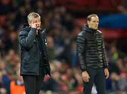 MANCHESTER, ENGLAND - Tuesday, February 12, 2019: Manchester United's manager Ole Gunnar Solskjær (Solskjaer) during the UEFA Champions League Round of 16 1st Leg match between Manchester United FC and Paris Saint-Germain at Old Trafford. (Pic by David Rawcliffe/Propaganda)
