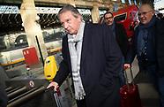 Arrival of RSC Anderlecht in Paris - 30 October 2017