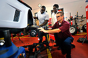 Students attend Auto Technical/Auto Collision/Drafting/HVAC & Refrigerant/Dental Technician classes at the Savannah Technical College's Campus. (Photo/Stephen Morton).