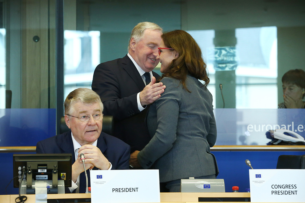 12 May 2017, 123rd Plenary Session of the European Committee of the Regions <br /> Belgium - Brussels - May 2017 <br /> <br /> Mr Markku Markkula, President of the European Committee of the Regions (CoR)<br /> <br /> &copy; European Union / Patrick Mascart