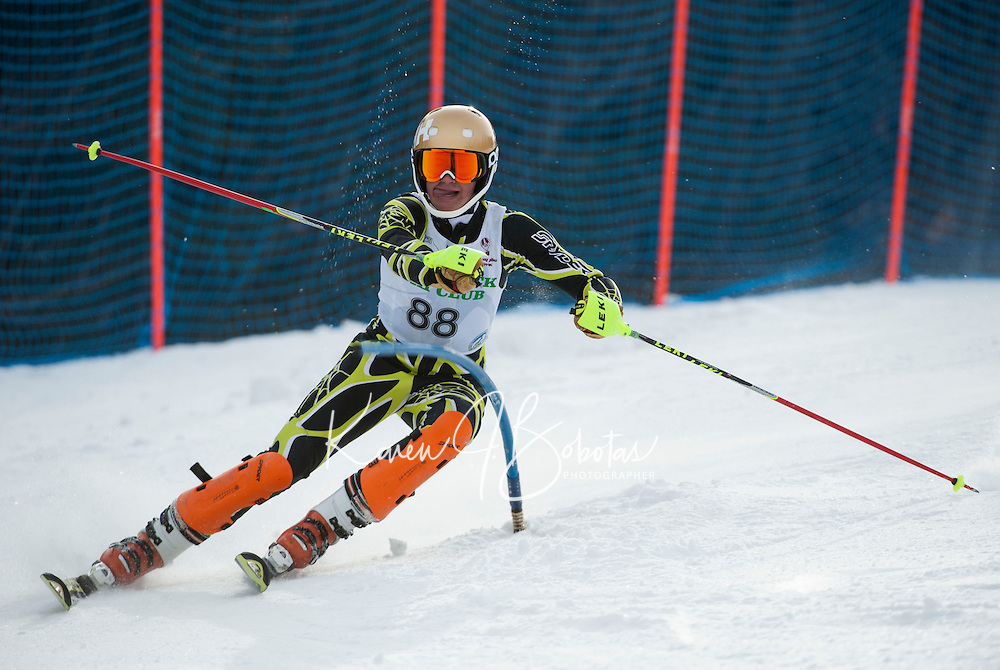 GSC Tecnica Cup Slalom 2nd run February 1, 2014.  ©2014 Karen Bobotas Photographer