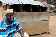 Freddy Akuffo has been a cocoa farmer since 1969 when he inherited his farm from his father. Since he received his training, as part of the Kraft Cocoa Partnership, Freddy has seen his yield increase from 180 bags of cocoa a year to 220. He has also diversified his farming to include farming pigs, chickens and Guinea fowl.