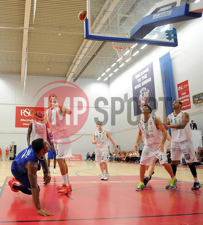 - Photo mandatory by-line: Joe Meredith/JMP - Mobile: 07966 386802 - 27/09/2014 - SPORT - Basketball - Bristol - SGS Wise Campus - Bristol Academy Flyers v Plymouth Uni Raiders - British Basketball League