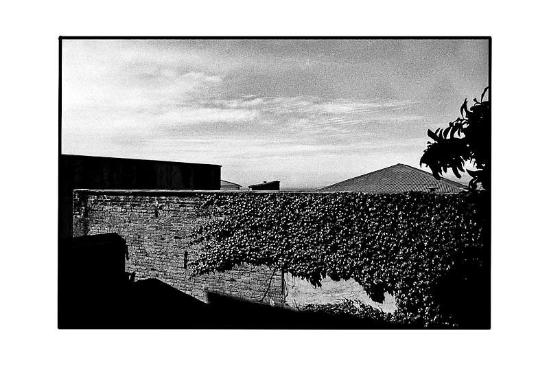 LAS TARDES - 1/6<br /> BLACKPARAISO 2001<br /> neg/inkjet<br /> 30x40<br /> canson Baryta Photographique 310gsm