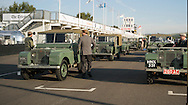 Goodwood Revival 2015 - so proud to be part of this 50 strong Land Rover parade. I went in Hue, my dear chum, although he's a car, I see him twice a week! oh and Mr Land Rover Roger Crathorne!