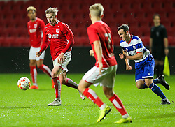Connor Lemonheigh-Evans of Bristol City U23 in action - Rogan Thomson/JMP - 17/10/2016 - FOOTBALL - Ashton Gate Stadium - Bristol, England - Bristol City U23 v Queens Park Rangers U23 - U23 Professional Development League 2 (South Division).