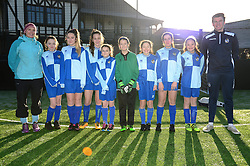 Bradley Stoke Community school represent Bristol Rovers at the EFL Cup held at South Bristol Sports Centre - Mandatory by-line: Dougie Allward/JMP - 05/01/2017 - FOOTBALL - South Bristol Sports Centre - Bristol, England - EFL Girls Cup