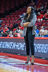 NORMAL, IL - February 27: Amaka Aququa-Hamilton during a college women's basketball game between the ISU Redbirds and the Bears of Missouri State February 27 2020 at Redbird Arena in Normal, IL. (Photo by Alan Look)