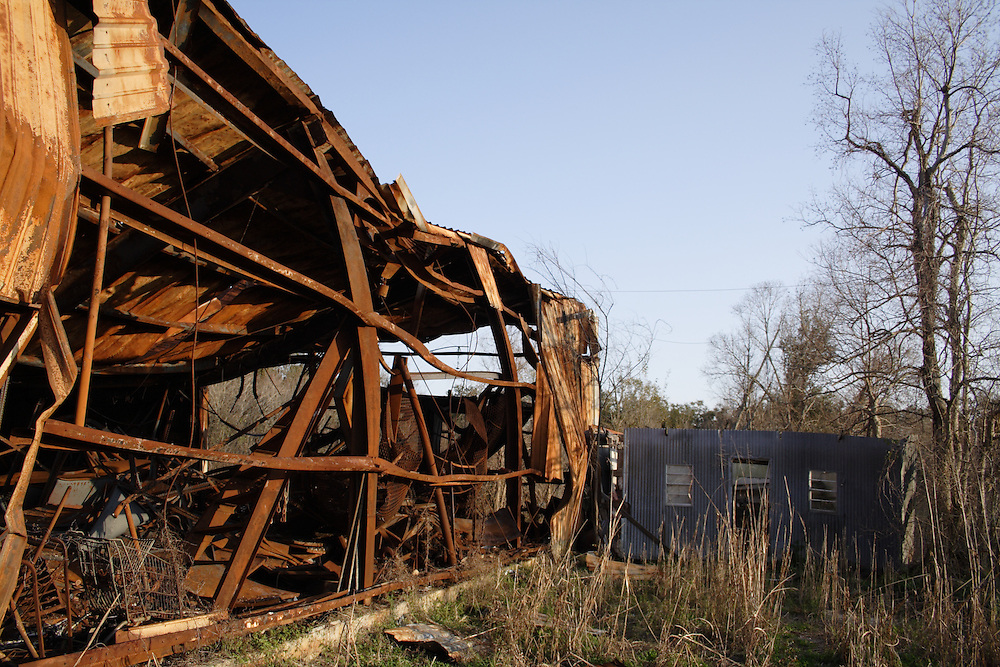 Ruins of Hardware Store, St. Bernard Parish, LA