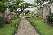 CARTAGO, COSTA RICA - JUNE 17, 2012: Exterior of the ruins of the Santiago Apostol cathedral in Cartago, Costa Rica.