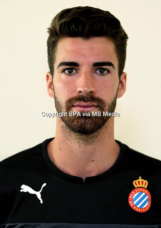 Spain - La Liga BBVA  2014-2015 / <br /> ( R.C.D. Espanyol ) - <br /> German Parreno Boix
