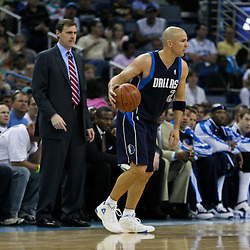 12 April 2009: Dallas Mavericks guard Jason Kidd (2) handles the ball during a 102-92 victory by the New Orleans Hornets over the Dallas Mavericks on Easter Sunday at the New Orleans Arena in New Orleans, Louisiana.