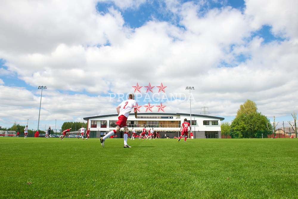 NEWPORT, WALES - Wednesday, May 22, 2013: The National Development Centre pitch during the Football Association of Wales' UEFA Pro Licence Course 2013 at Dragon Park. (Pic by David Rawcliffe/Propaganda)