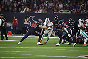 Miami Dolphins running back Kenyan Drake (32) in action during the NFL week 8 regular season football game against the Houston Texans on Thursday, Oct. 25, 2018 in Houston. The Texans won the game 42-23. (©Paul Anthony Spinelli)