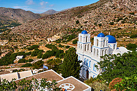 Grece, les Cyclades, ile de Amorgos, Aigiali // Greece, Cyclades islands, Amorgos, Aigiali bay