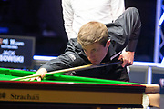 Jack Lisowski starting to settle into the final session of the tournament at the World Snooker 19.com Scottish Open Final Mark Selby vs Jack Lisowski at the Emirates Arena, Glasgow, Scotland on 15 December 2019.