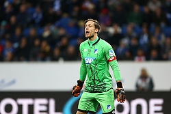 12.12.2015, Wirsol Rhein Neckar Arena, Sinsheim, GER, 1. FBL, TSG 1899 Hoffenheim vs Hannover 96, 16. Runde, im Bild Oliver Baumann (TSG 1899 Hoffenheim), TSG 1899 Hoffenheim vs Hannover 96, Fussball, 1. Bundesliga, 12.12.2015, Fotograf Neis / Eibner // during the German Bundesliga 16th round match between TSG 1899 Hoffenheim and Hannover 96 at the Wirsol Rhein Neckar Arena in Sinsheim, Germany on 2015/12/12. EXPA Pictures © 2015, PhotoCredit: EXPA/ Eibner-Pressefoto/ Neis<br /> <br /> *****ATTENTION - OUT of GER*****