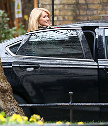 © Licensed to London News Pictures. 17/12/2019. London, UK. Esther McVey Housing Secretary leaves Downing Street after the first Cabinet meeting with Prime Minister Boris Johnson. Photo credit: Alex Lentati/LNP