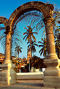 MEXICO, PACIFIC, TOURISM Puerto Vallarta; stone arches
