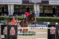 Philippaertsd Nicola, BELSpringsteen Jessica, USA, RMF Swinny du Parc<br /> Longines FEI Jumping Nations Cup™ Final<br /> Barcelona 20128<br /> © Hippo Foto - Dirk Caremans<br /> 06/10/2018