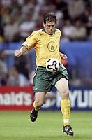 Fotball<br /> Confederations Cup 2005<br /> 15.06.2005<br /> Tyskland v Australia<br /> Foto: Dppi/Digitalsport<br /> NORWAY ONLY<br /> <br /> TONY POPOVIC (AUS)