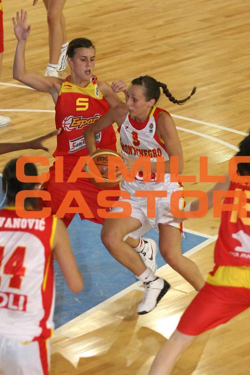 MDESCRIZIONE : Sulmona U20 European Championship Women Preliminary Round Montenegro Spain<br /> GIOCATORE : Snezana Aleksic<br /> SQUADRA : Montenegro <br /> EVENTO : Sulmona U20 European Championship Women Preliminary Round Montenegro Spain Campionato Europeo Femminile Under 20 Preliminari Montenegro Spagna<br /> GARA : Montenegro Spain<br /> DATA : 12/07/2008 <br /> CATEGORIA : <br /> SPORT : Pallacanestro <br /> AUTORE : Agenzia Ciamillo-Castoria/M.Marchi<br /> Galleria : Europeo Under 20 Femminile <br /> Fotonotizia : Sulmona U20 European Championship Women Preliminary Round Montenegro Spain<br /> Predefinita :