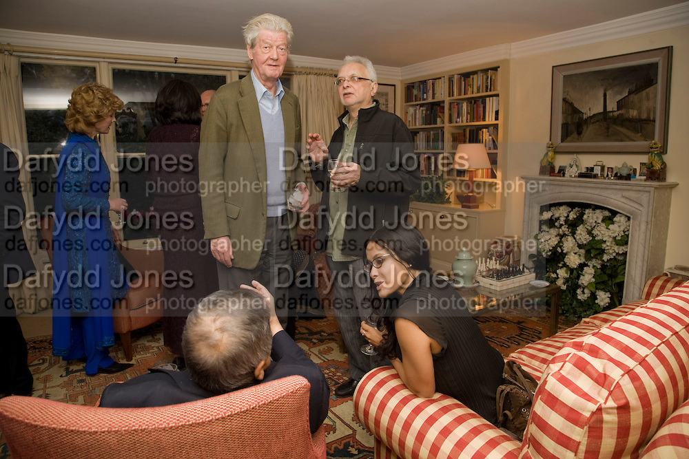 Gillon Aitken; Faroukh Dhondy; NANDANA SEN;  , Aatish Taseer  book launch party for his new book Stranger To History. Travel book asks what it means to be a Muslim in the 21st century. Hosted by Gillon Aitken. Kensington, London. 30 March 2009