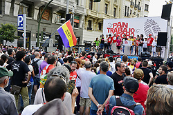 May 27, 2017 - Madrid, Spain - Thousands of people gather in Madrid to protest against job insecurity, unemployment and the social deterioration of health and education. (Credit Image: © M.Ramirez/Pacific Press via ZUMA Wire)