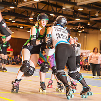 Ohio Roller Girls VS  Blue Ridge Roller Girls